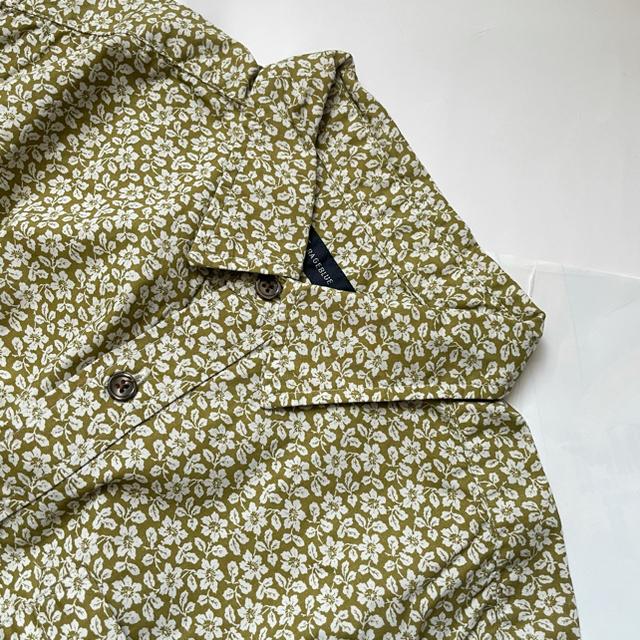 RAGEBLUE(レイジブルー)のRAGEBLUE レイジブルー 花柄シャツL/S  柄シャツ メンズのトップス(シャツ)の商品写真