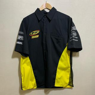 Supreme - 【90s】Racing shirt レーシングシャツ メッシュ ワッペン