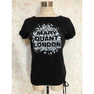 マリークワント(MARY QUANT)のマリークワント スパンコール付き Tシャツ(Tシャツ(半袖/袖なし))