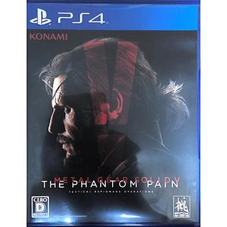 コナミ(KONAMI)のMETAL GEAR SOLID V: THE PHANTOM PAIN PS4(家庭用ゲームソフト)