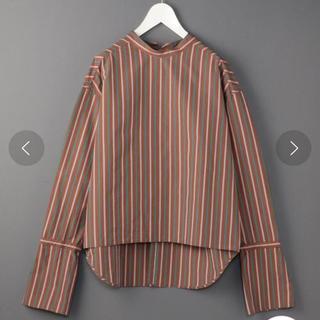 BEAUTY&YOUTH UNITED ARROWS - 【美品】ROKU♡ストライプロングカフスシャツ