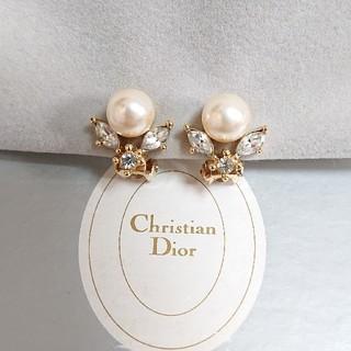 Christian Dior - Christian Dior ゴールド イヤリング