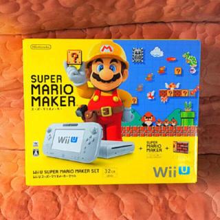 ウィーユー(Wii U)のWiiU スーパーマリオメーカー セット (家庭用ゲーム機本体)