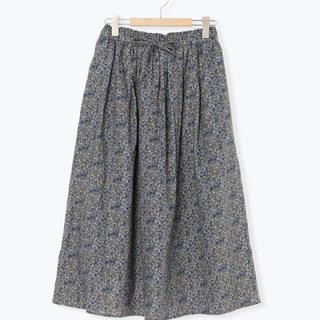 サマンサモスモス(SM2)の期間限定お値段下げます。花柄ギャザースカート(ロングスカート)