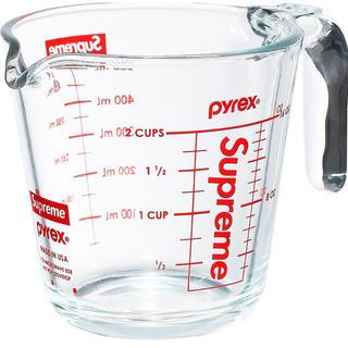 シュプリーム(Supreme)のPyrex2-Cup Measuring シュプリーム 計量カップ パイレックス(調理道具/製菓道具)