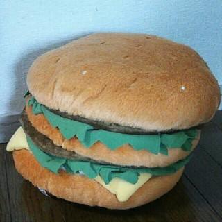 マクドナルド(マクドナルド)のマクドナルド BIGクッション ビッグマック 非売品 レア ノベルティグッズ(ノベルティグッズ)