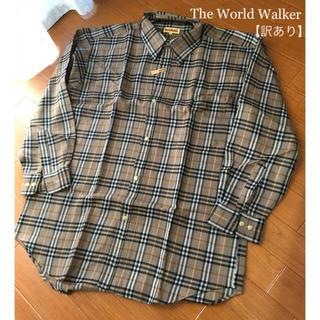 【 訳あり 】The World Walker * メンズシャツ(シャツ)