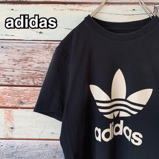 adidas - 【美品】アディダス オリジナルス XSサイズ トレフォイル  ブラック Tシャツ