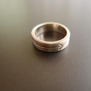 フェリシモ(FELISSIMO)のフェリシモ シルバーリング 925 11号 中古(リング(指輪))