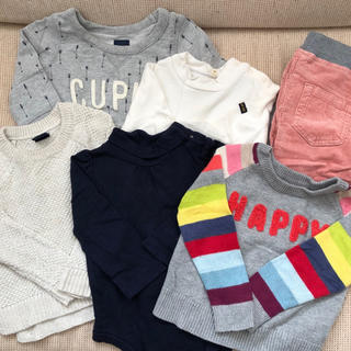 babyGAP - 冬服6枚セット 80サイズ