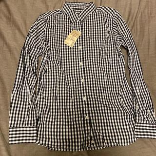 ムジルシリョウヒン(MUJI (無印良品))の新品、未使用♡ギンガムチェックシャツ(シャツ/ブラウス(長袖/七分))