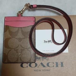 COACH - 【新品】コーチ COACH パスケース F63274