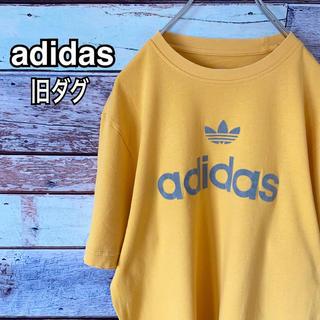 adidas - 90s アディダス オリジナルス Mサイズ Tシャツ イエロー