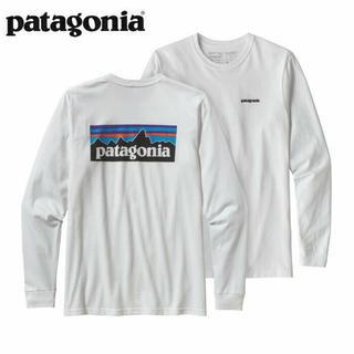 パタゴニア(patagonia)のPatagonia ロンT 白 Sサイズ(Tシャツ/カットソー(七分/長袖))