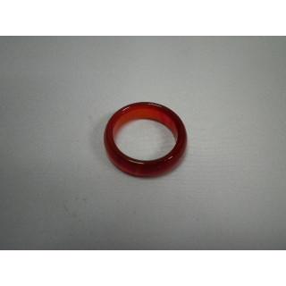 L2-15●パワーストーン●天然石メノウ指輪●瑪瑙 めのう●15号リング●(リング(指輪))