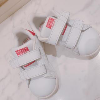 アディダス(adidas)のスタンスミス ピンク 12センチ(スニーカー)
