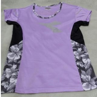 ディアドラ(DIADORA)の✨週末SALE✨⸜ ★⸝⋆*ラメでキラキラ★ディアドラ ゲームシャツ ★Lサイズ(ウェア)