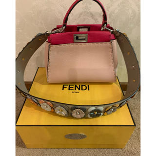 フェンディ(FENDI)のフェンディー GINZA SIX限定ピーカーブ(ハンドバッグ)