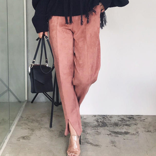 Ameri VINTAGE - COMFY SLIM TAPERED PANTS  /Mサイズ