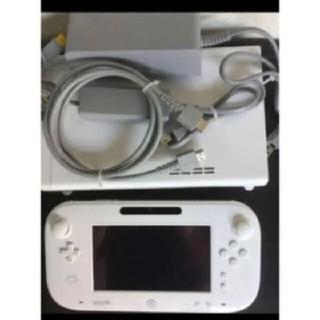 ウィーユー(Wii U)のニンテンドーWii U shiro 白 本体 セット 任天堂(家庭用ゲーム機本体)