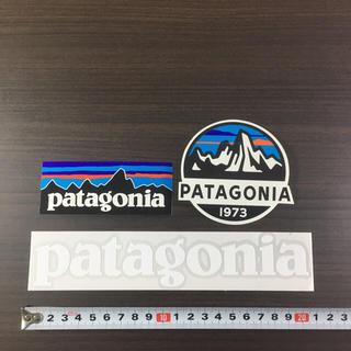パタゴニア(patagonia)の467 パタゴニア ステッカー 3点 ☆ スコープ 切り文字(その他)