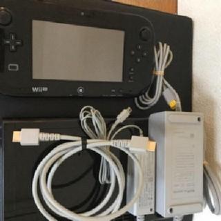 ウィーユー(Wii U)のニンテンドーWii U プレミアムセット 32GB kuro 黒 本体 任天堂(家庭用ゲーム機本体)