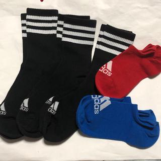 adidas - 新品☆adidas ソックス5足SET