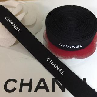 CHANEL - 5mです♡CHANEL リボン 定番 黒