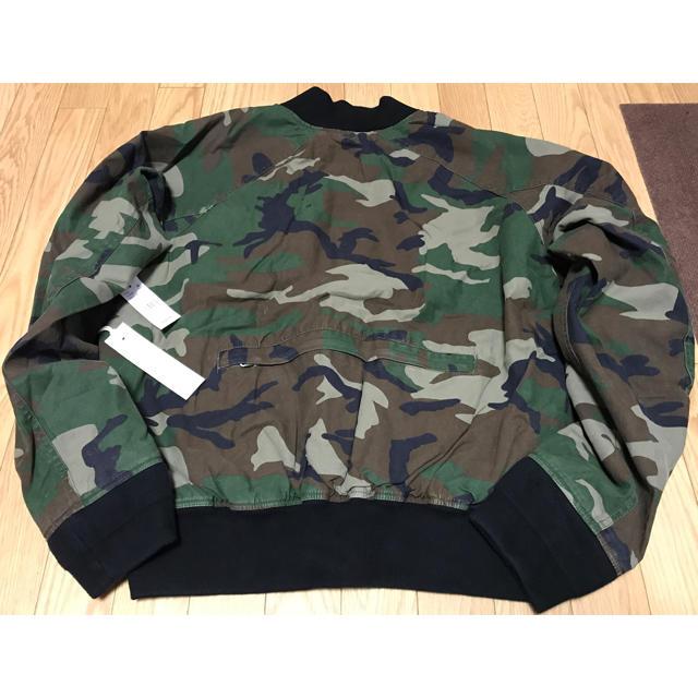 FEAR OF GOD(フィアオブゴッド)のfear of god FOG ボンバージャケット XL 新品 迷彩 MA-1 メンズのジャケット/アウター(ブルゾン)の商品写真