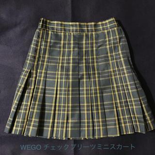 ウィゴー(WEGO)のWEGO チェックプリーツミニスカート(ミニスカート)