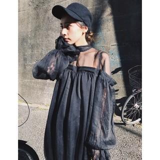 Ameri VINTAGE - アメリヴィンテージ CATTLEYA SHEER DRESS