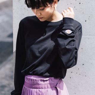 ディッキーズ(Dickies)の《新品》⚡️Dickies⚡️ロンT ブラック(Tシャツ(長袖/七分))