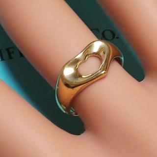 ティファニー(Tiffany & Co.)のティファニーオープンハート/750YG(リング(指輪))
