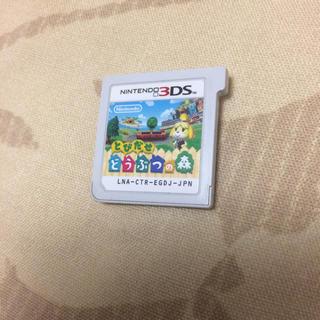 ニンテンドー3DS(ニンテンドー3DS)のとびだせ どうぶつの森(携帯用ゲームソフト)