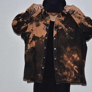BURNING バーニング オーバーサイズ フィールドジャケット(シャツ)