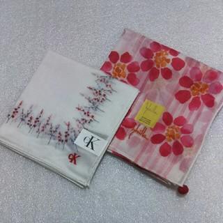 シビラ(Sybilla)のカルバンクライン&シビラ☆ハンカチ2枚セット(ハンカチ)