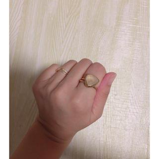エテ(ete)のビジュマム  リング フリーサイズ(リング(指輪))