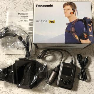Panasonic - おまけ付 Panasonic ウェアラブルカメラ HX-A500