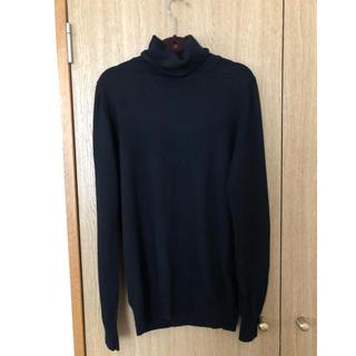 ムジルシリョウヒン(MUJI (無印良品))の無印良品 セーター ブラック(ニット/セーター)