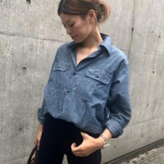 美品 MADISON BLUE シャンブレー  シャツ