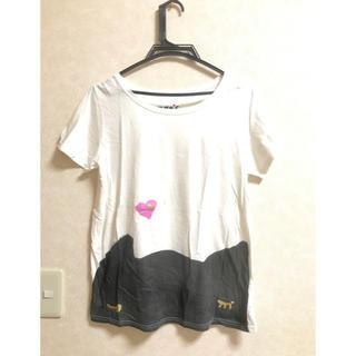 ツモリチサト(TSUMORI CHISATO)のツモリチサト cat'sTシャツ キャッツ(Tシャツ(半袖/袖なし))