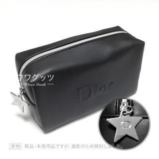 ディオール(Dior)の新品♥ Dior ポーチ ブラック 星形チャーム(ポーチ)