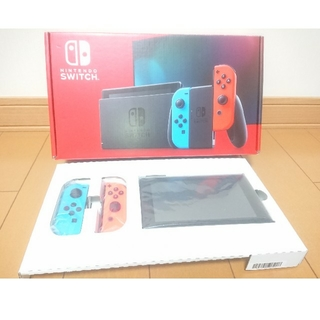 Nintendo Switch - 新型 ニンテンドースイッチ 本体 ネオン