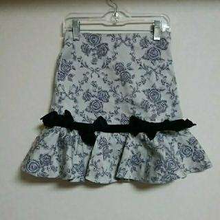mezzo piano - メゾピアノ♡130とても上品な柄のスカート