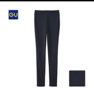 GU - 黒スキニーレギンスパンツ