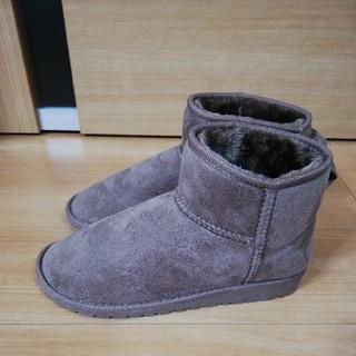 大きいサイズ 起毛 ブーツ 4L(ブーツ)