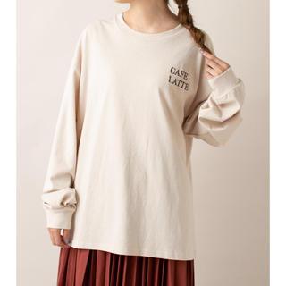 ミスティック(mystic)のmystic mline CAFELATTE ロンT(Tシャツ(長袖/七分))