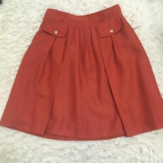 ネットディマミーナ(NETTO di MAMMINA)のオレンジ スカート(ひざ丈スカート)