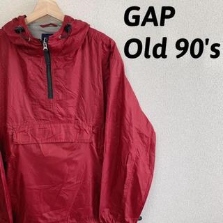 ギャップ(GAP)の古着屋購入 メンズ GAP ギャップ アノラックパーカー 90's 旧タグ(ナイロンジャケット)