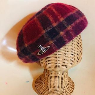 Vivienne Westwood - Vivienne westwoodベレー帽 タータンチェック 帽子 ヴィヴィアン